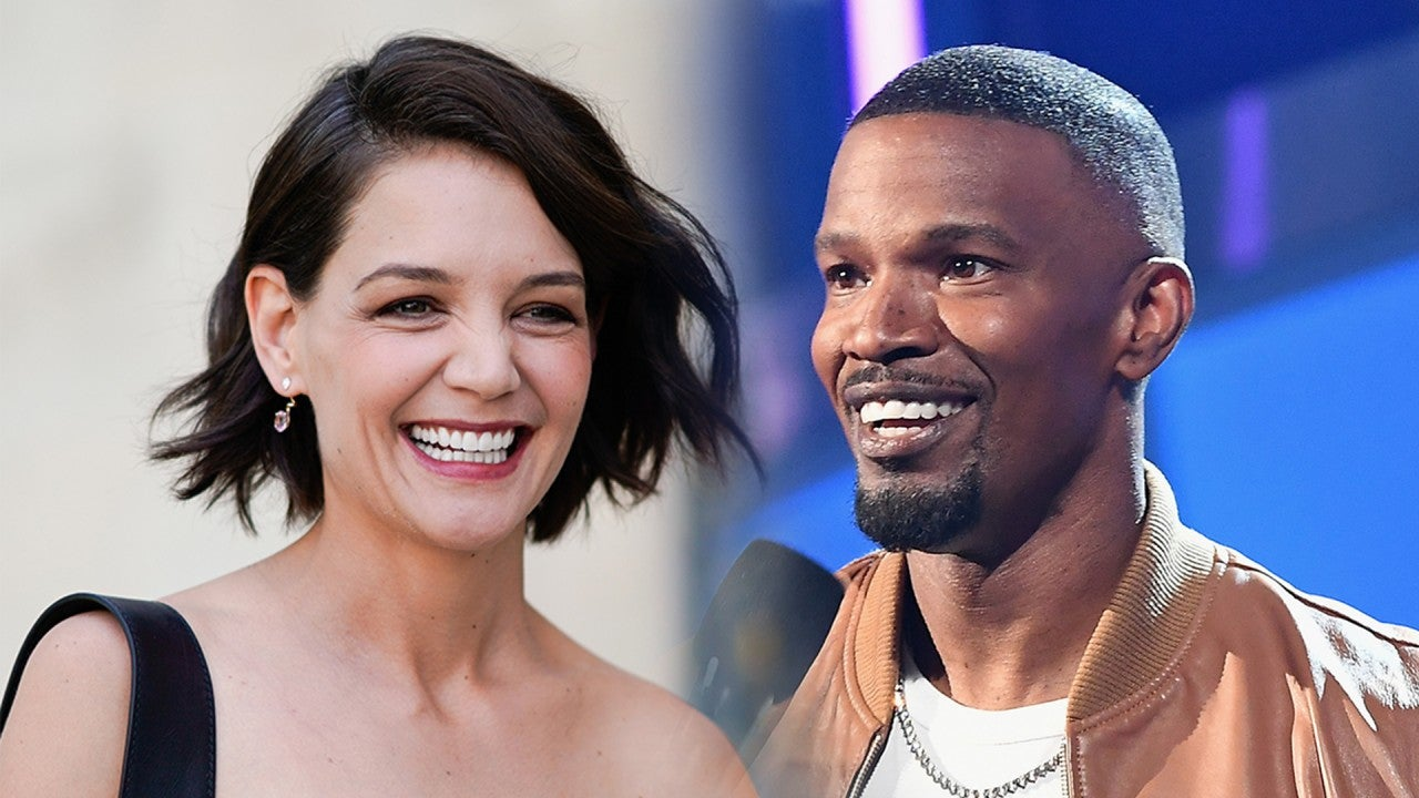 Jamie Foxx and Katie Holmes Hold Hands for Movie Night With His Daughter