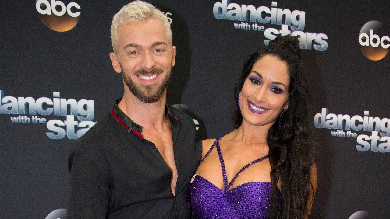 Nikki Bella Is Artem Chigvintsev's Date for Val Chmerkovskiy and Jenna Johnson's Wedding