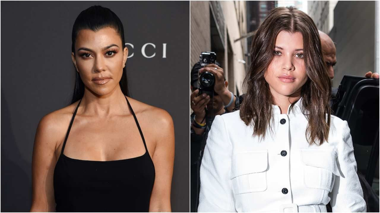 Kourtney Kardashian and Sofia Richie Spotted at Beverly Hills Spa Together