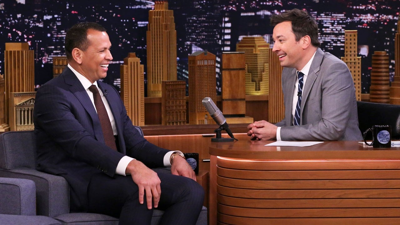 Alex Rodriguez Opens Up to Jimmy Fallon About Rehearsing His Proposal to Jennifer Lopez