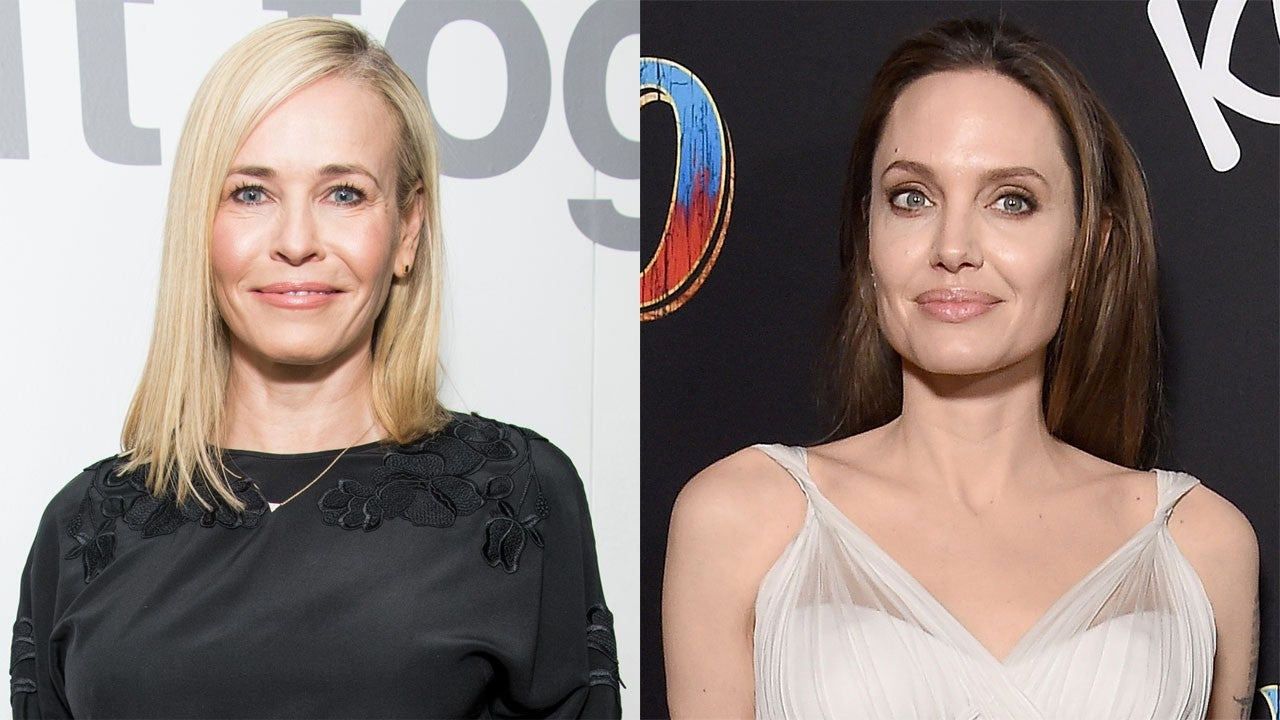 Chelsea Handler Wishes Angelina Jolie 'Good Luck' After Years of Shading Her