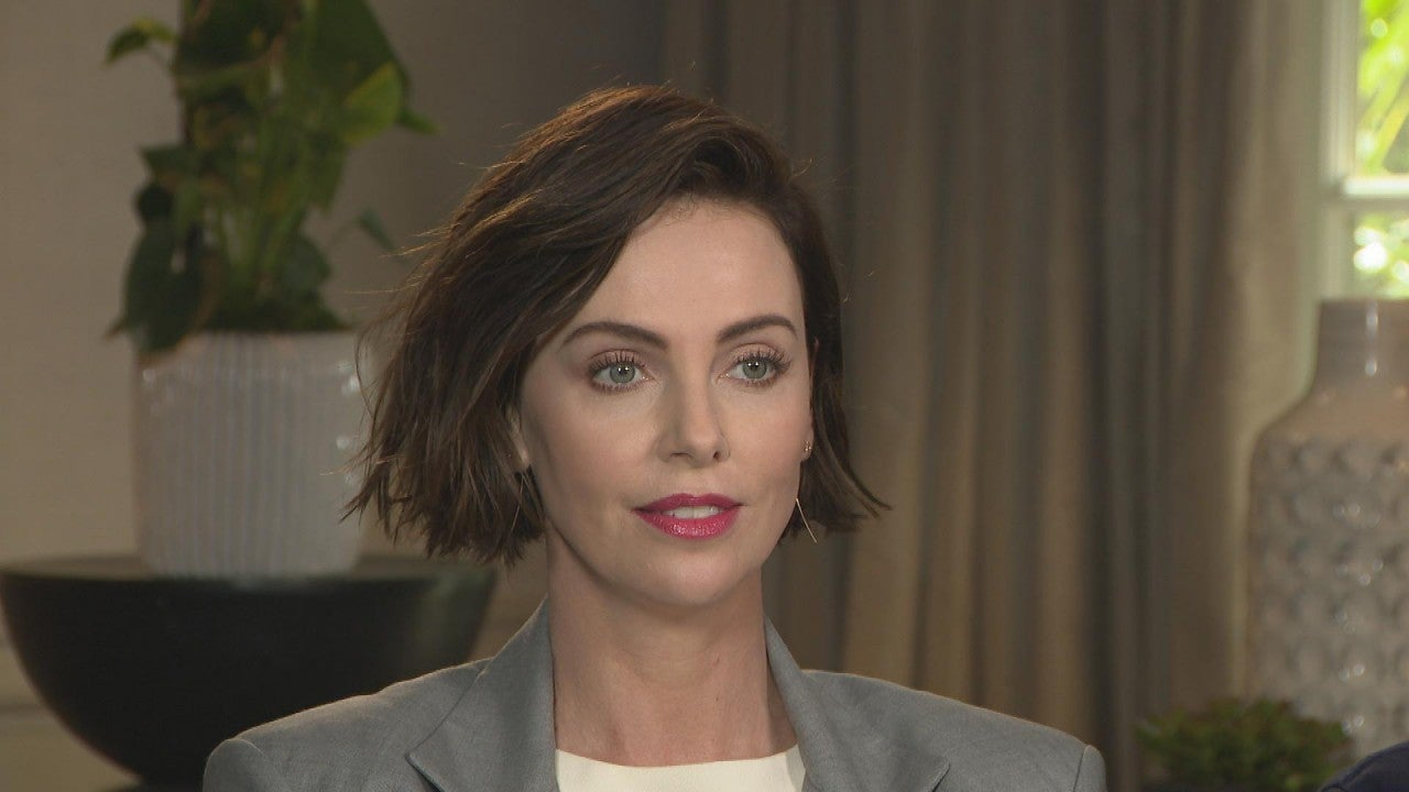 Watch Charlize Theron Get Asked Out by Viewer After Declaring She's 'Shockingly Single' (Exclusive)