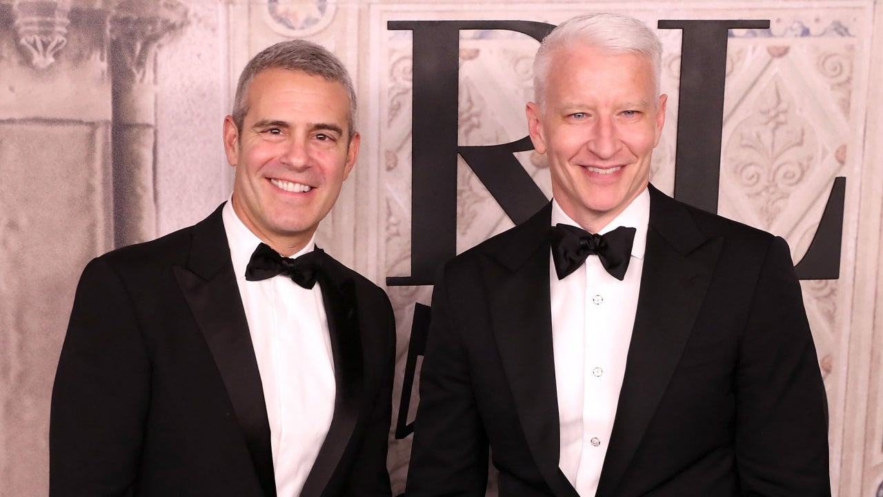 Anderson Cooper Jokes About Andy Cohen's Baby Benjamin and His Side Eye: 'He's Very Judgy'
