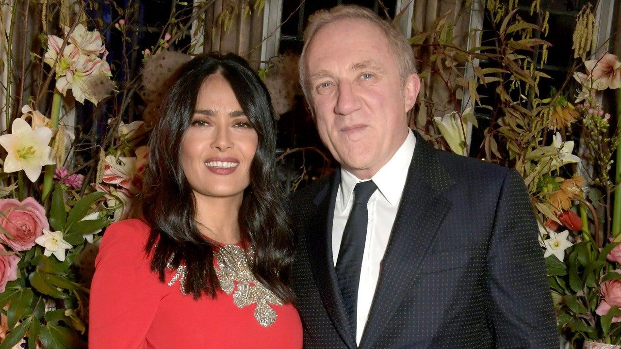 Salma Hayek's Husband François-Henri Pinault Pledges Over 0 Million to Notre Dame Cathedral