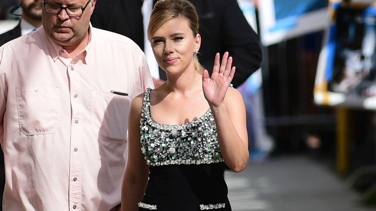 Scarlett Johansson Taken to Police Station After Paparazzi Overpower Her Security