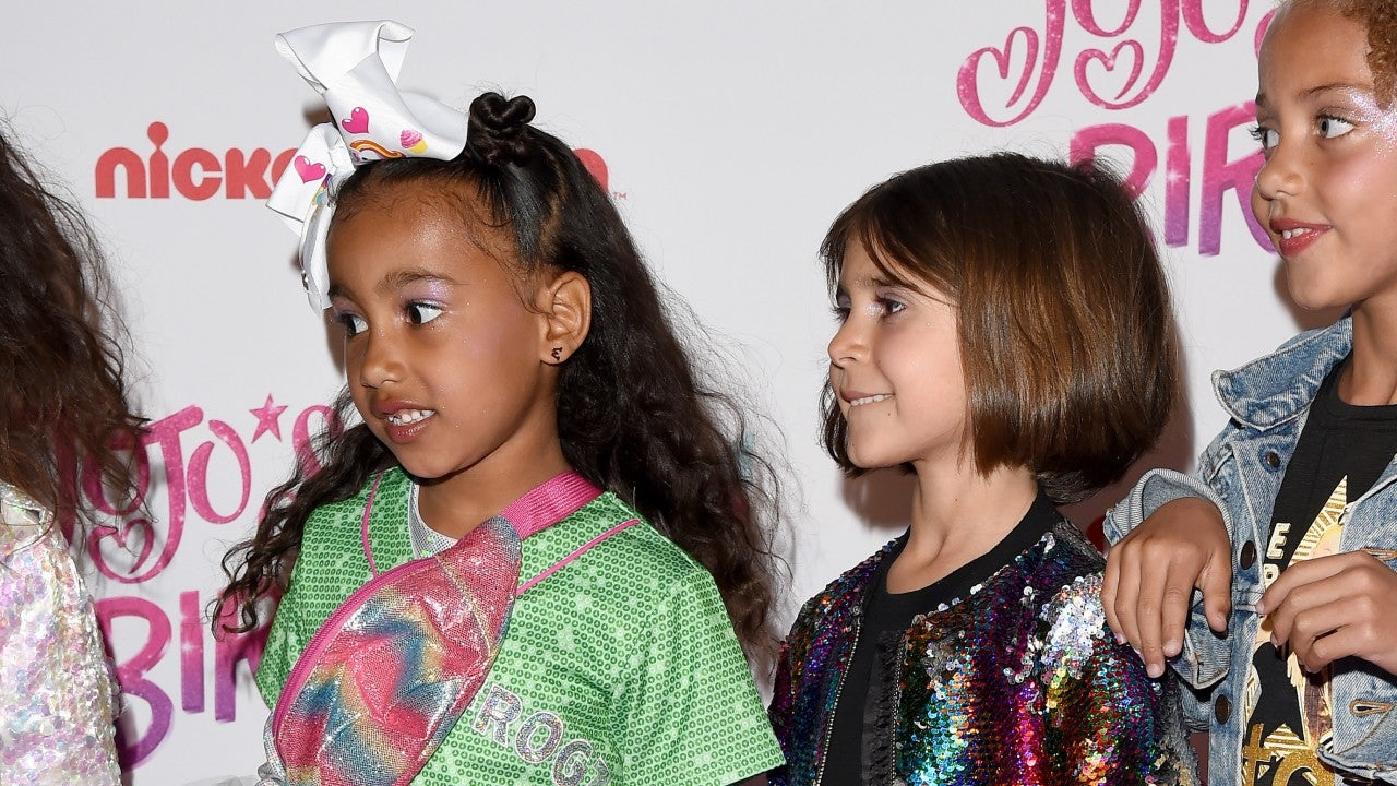 North West and Penelope Disick Pose on the Red Carpet at JoJo Siwa's 16th Birthday Party