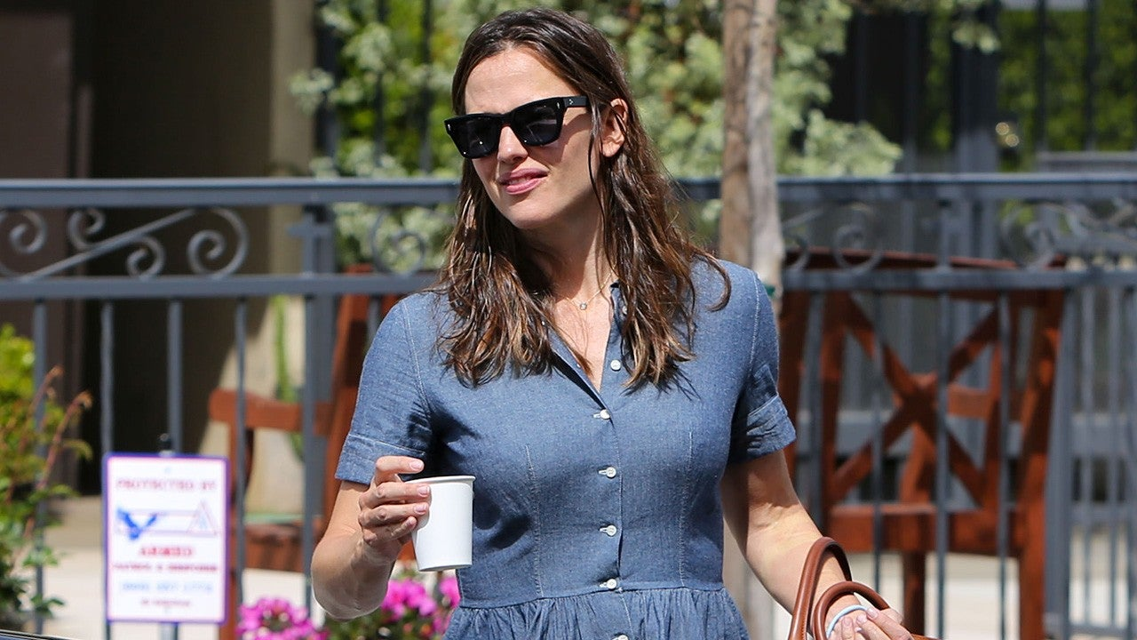 Jennifer Garner's Church Outfit Is the Epitome of Spring Chic -- Shop Her Look!