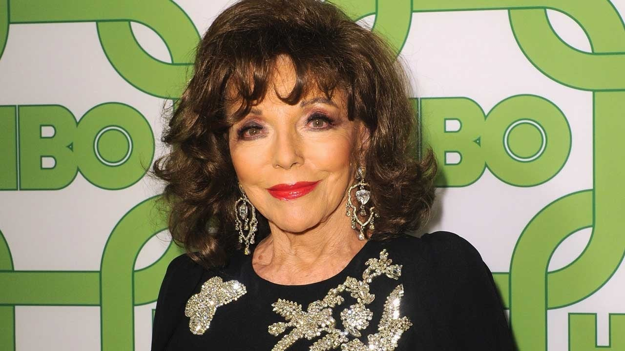 'Dynasty' Star Joan Collins Forced to Flee After Fire Breaks Out in London Apartment
