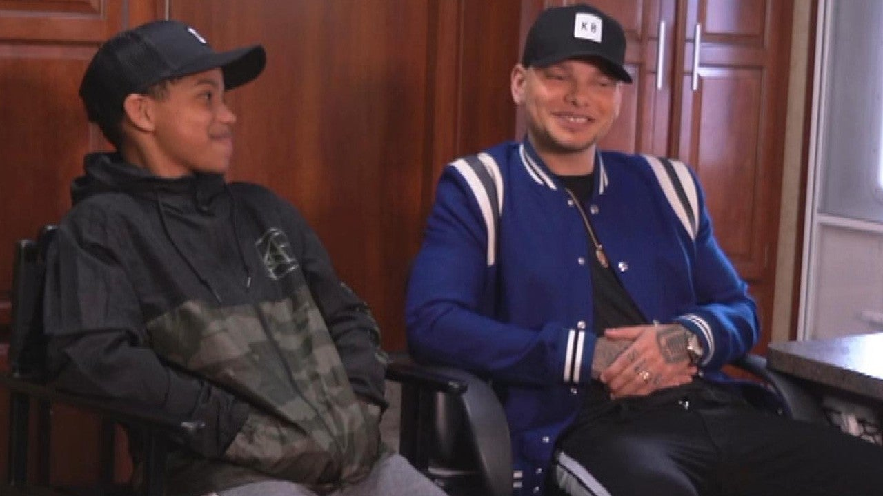 Kane Brown Talks Bullying & Being Raised by Women on Set of New Music Video With 'This Is Us' Star (Exclusive)