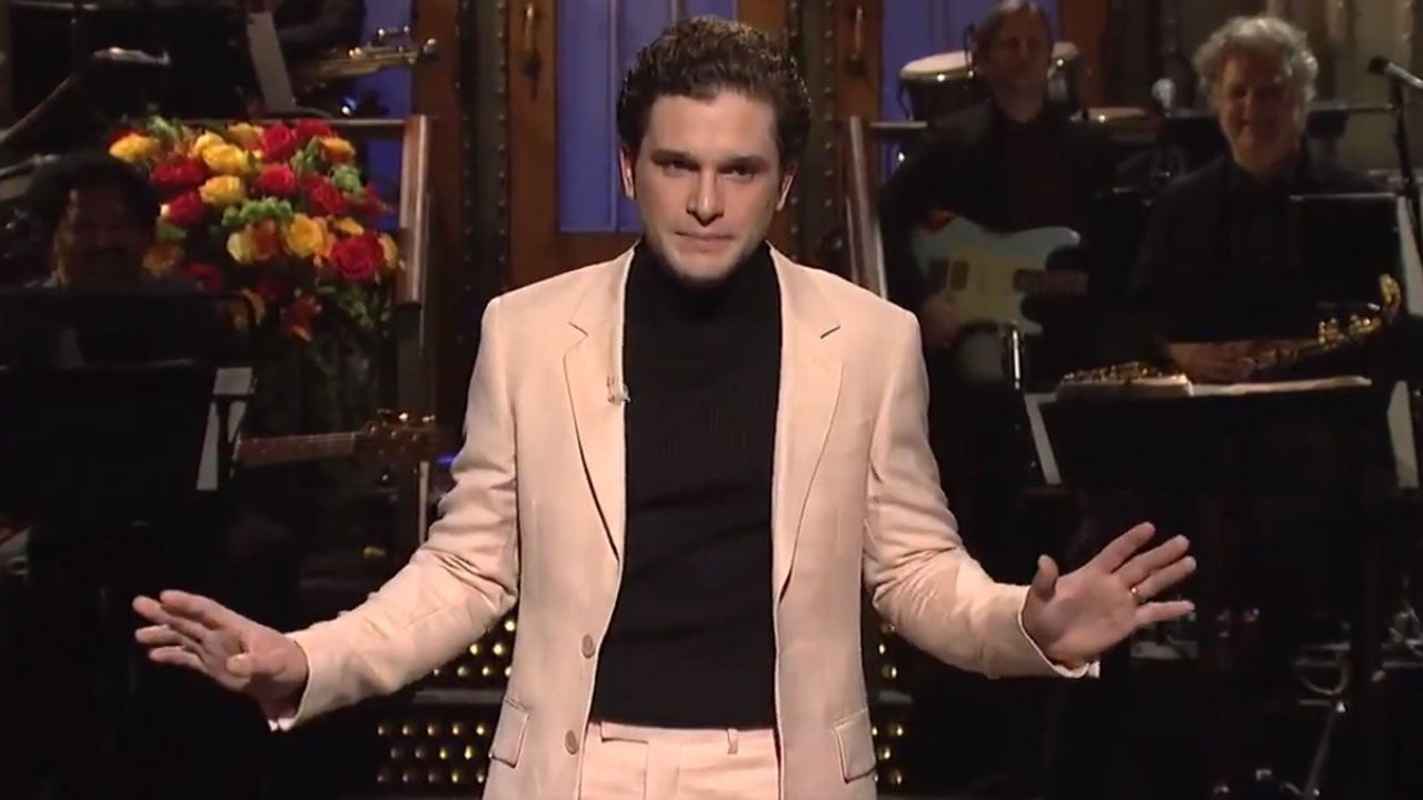 Kit Harington Reunites With 'Game of Thrones' Co-Stars in 'Saturday Night Live' Monologue