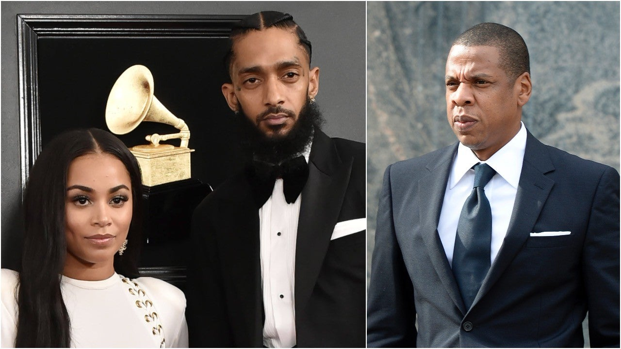 Lauren London and JAY-Z Share Touching Messages in Nipsey Hussle's Memorial Program