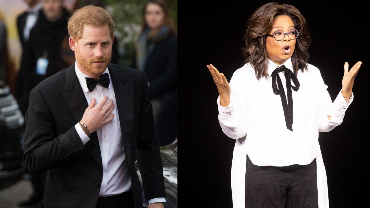 Prince Harry Is Teaming Up With Oprah Winfrey for a Mental Health Series on Apple