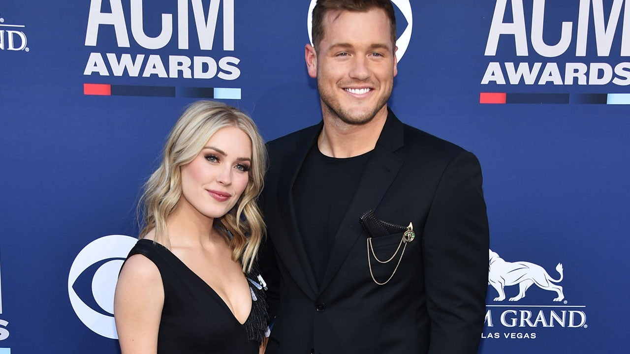 2019 ACM Awards: 'Bachelor' Alumni Colton Underwood and Cassie Randolph Make Red Carpet Debut