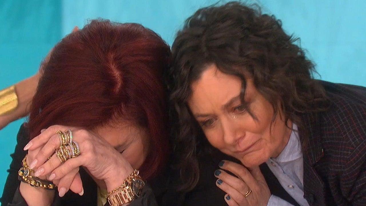 Sharon Osbourne Breaks Down in Tears Over Sara Gilbert Leaving 'The Talk'