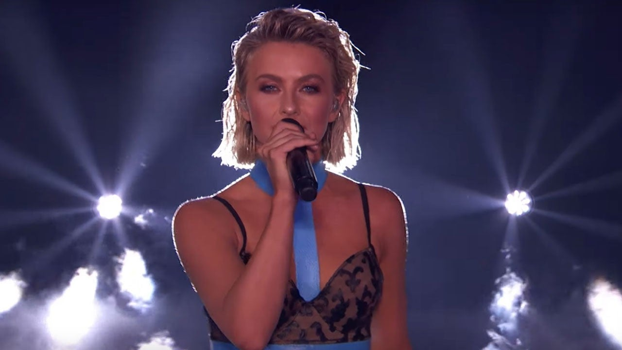 Julianne Hough Takes the Stage During 'America's Got Talent' Finale to Perform First New Music in a Decade