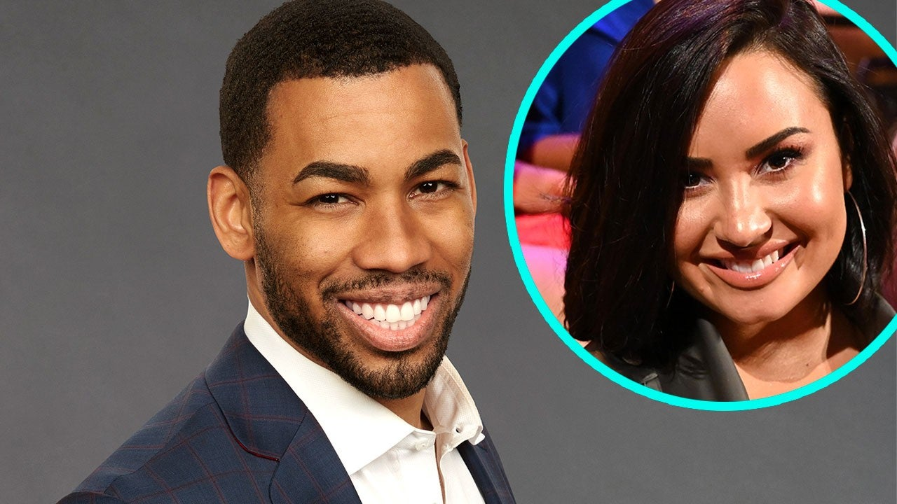 'Bachelorette' Star Mike Johnson on His Date With 'Amazing' Demi Lovato (Exclusive)