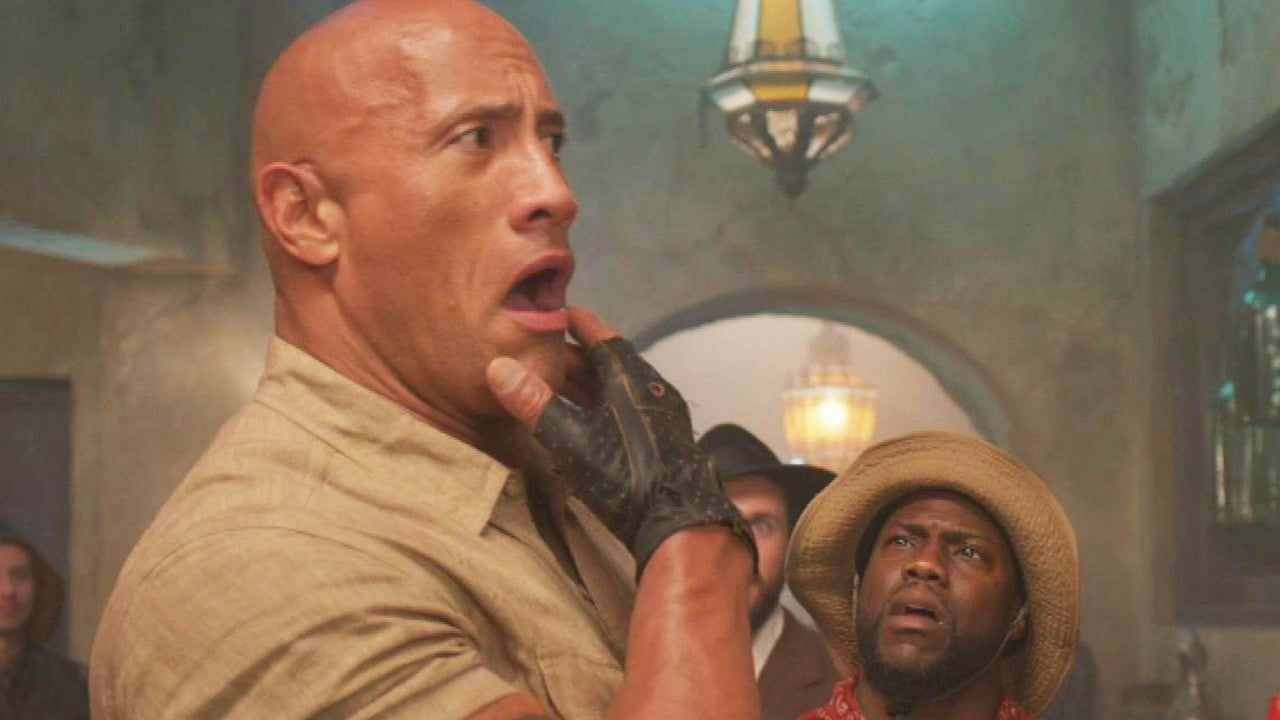 'Jumanji: The Next Level': Inside the Action With Kevin Hart and Dwayne Johnson (Exclusive)