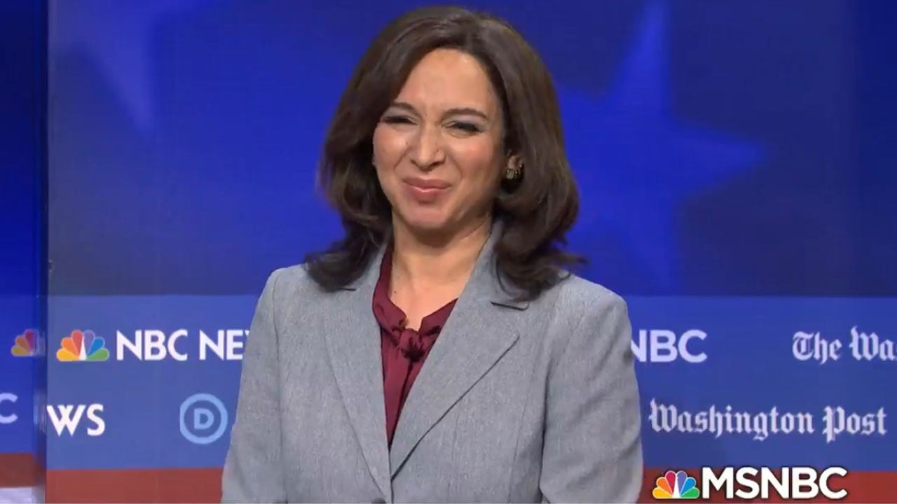 Maya Rudolph Has the Best Reaction to Kamala Harris' VP Nomination
