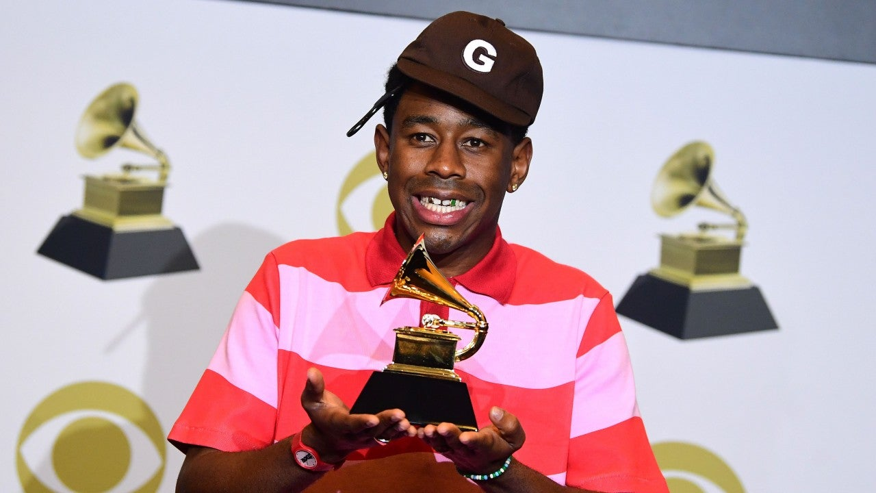 Jaden Smith Gives Shout-Out to 'Boyfriend' Tyler, the Creator After His First GRAMMY Award Win