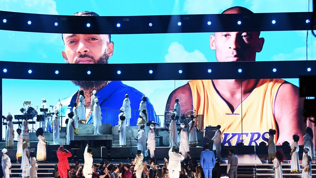 John Legend, DJ Khaled and More Honor Nipsey Hussle and Kobe Bryant at 2020 GRAMMYs