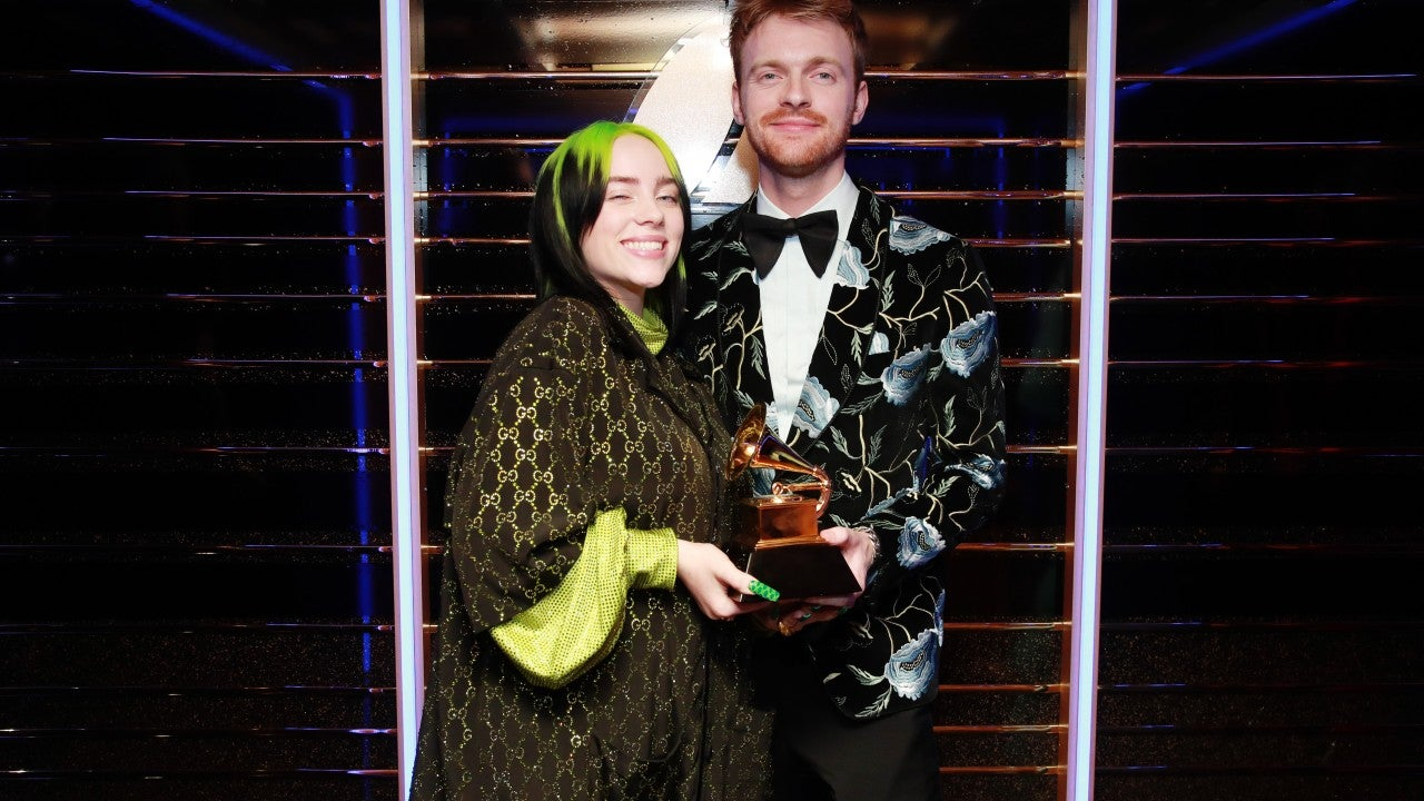 Billie Eilish Wins Song of the Year, Gives Adorable Speech With Finneas at 2020 GRAMMYs