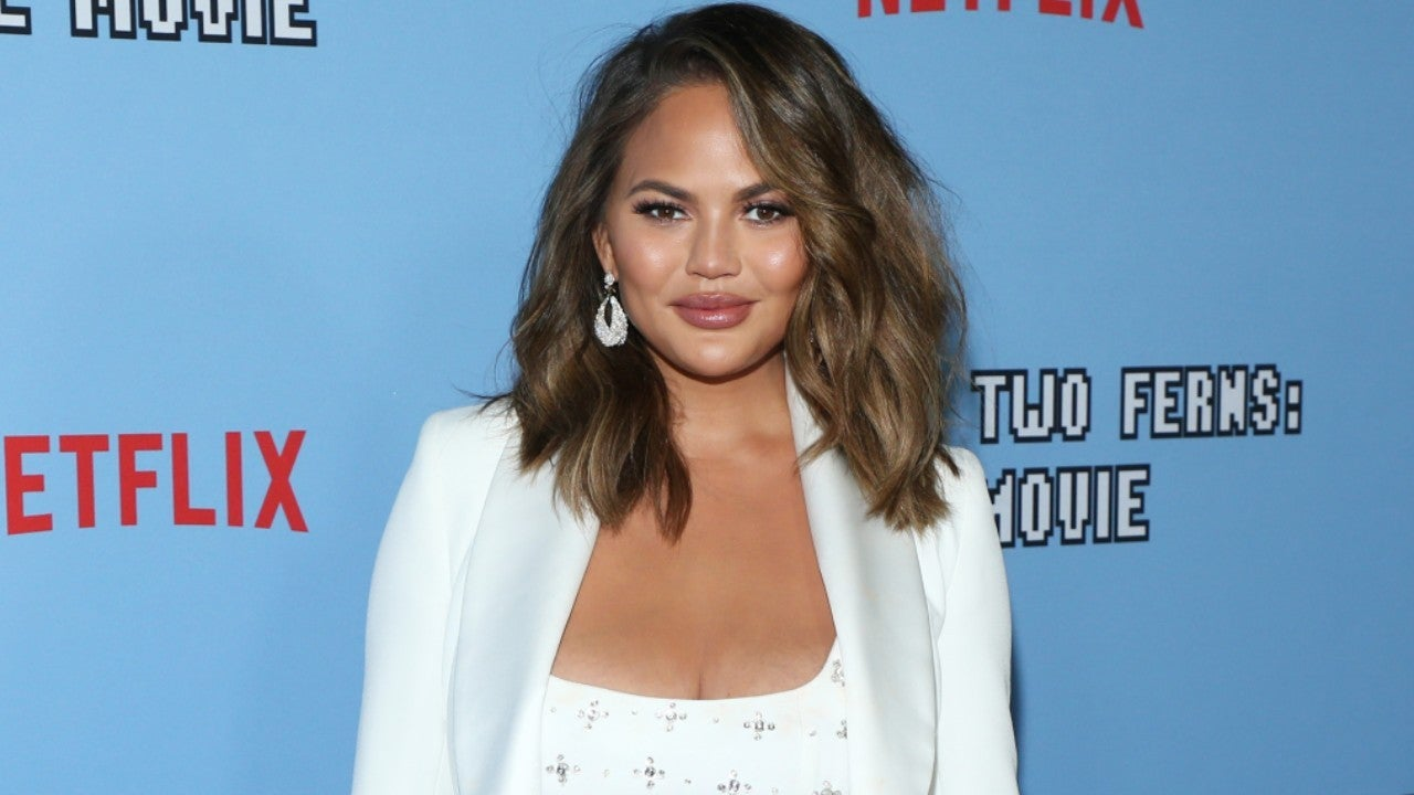 Chrissy Teigen Shares Hilarious Pic of Son Miles Blocking Her Topless Thirst Trap