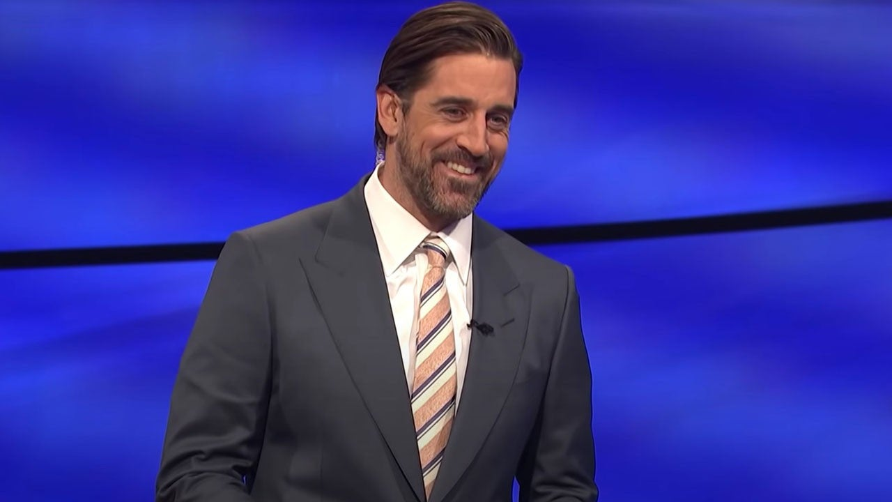 Aaron Rodgers Pays Tribute to Alex Trebek During 'Jeopardy!' Guest Hosting Debut