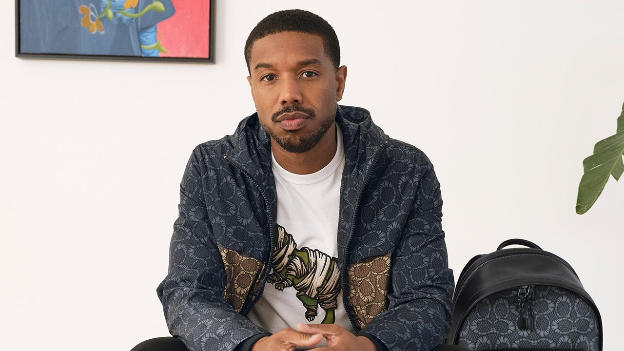 Michael B. Jordan Launches New Collection for Coach With Artist Blue the Great