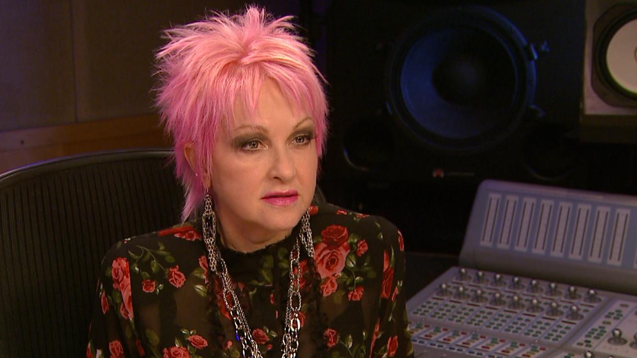How Cyndi Lauper Is Letting Those With Psoriasis Know They