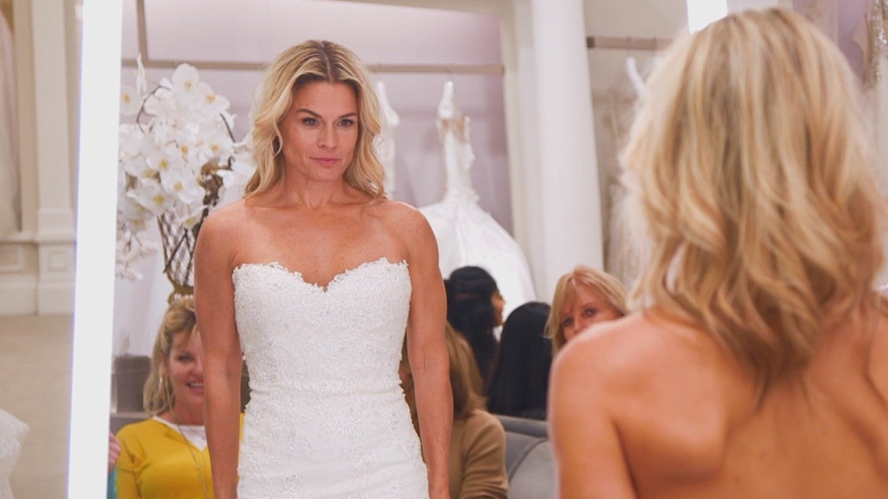 Cat Cora Tries On A Timeless Wedding Dress On Say Yes To