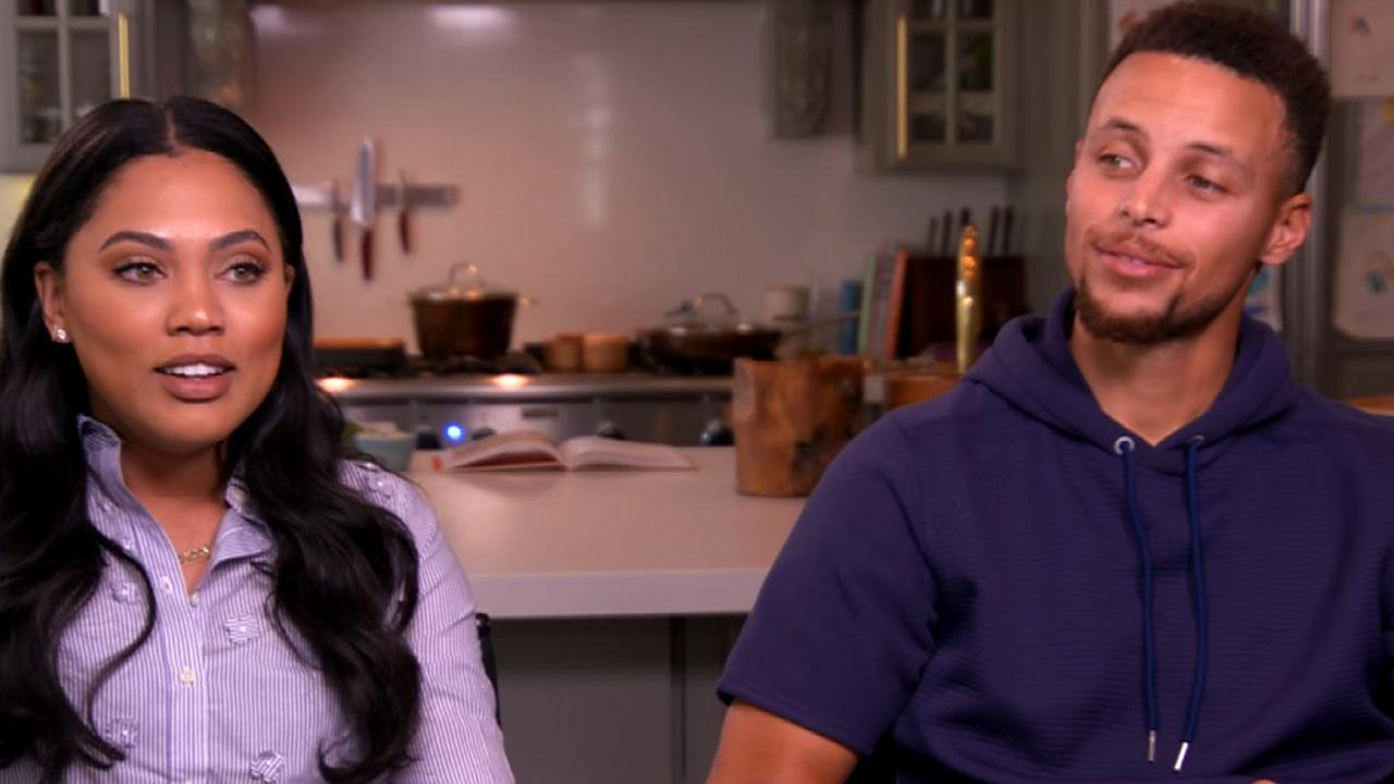 at home with steph and ayesha curry  is the family headed