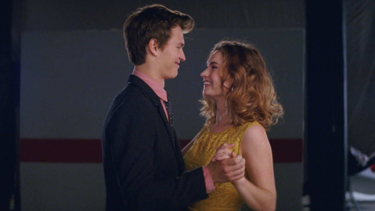 Ansel Elgort And Lily James Put Their Chemistry To The