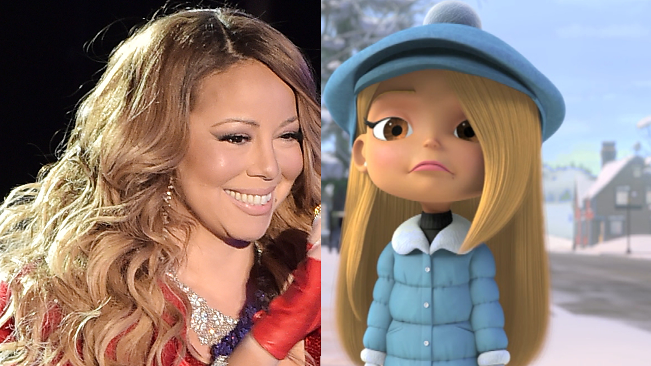 listen to mariah carey u0026 39 s adorable new holiday song in  u0026 39 all