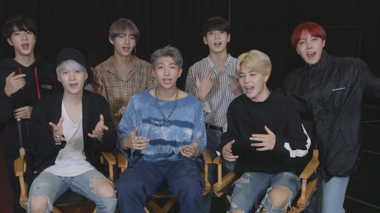 BTS Full Interview with ET --Watch! (Exclusive)