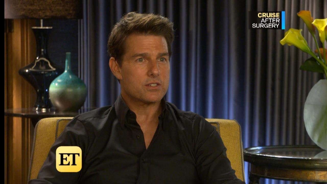 Tom Cruise 'Feeling Great' After Ankle Surgery as He Promotes 'American Made'