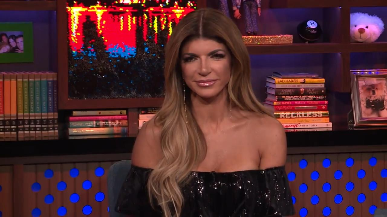 Teresa giudice says husband joe watches her on tv in for Where do the real housewives of new jersey live