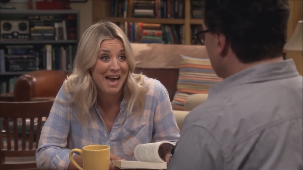 Kaley Cuoco Says Penny And Leonard Might Be Getting The
