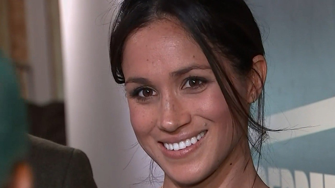 New Dating Sites >> Meghan Markle Rocks New Hairstyle During Stylish Radio Station Visit With Prince Harry ...