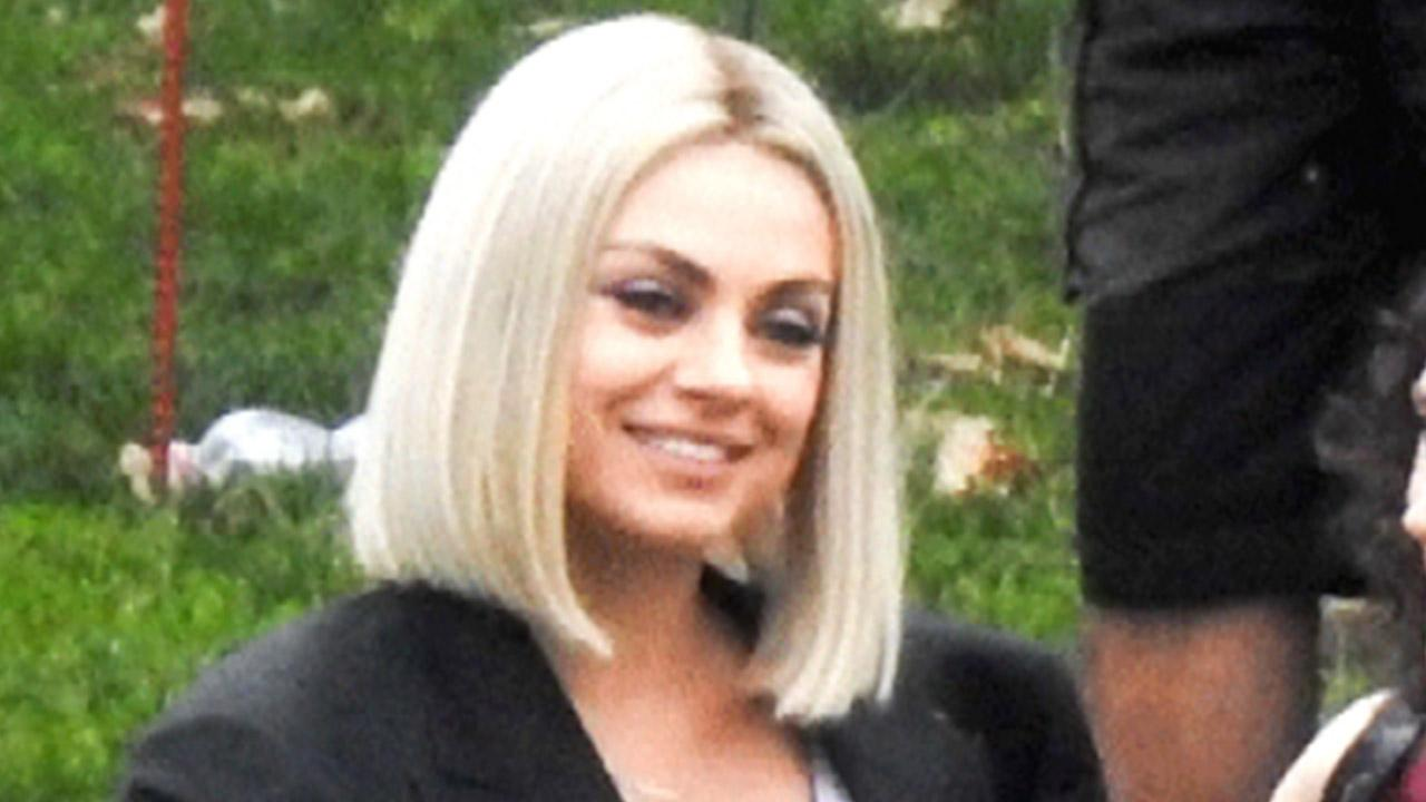Mila Kunis Transforms Into a Blonde Bombshell While