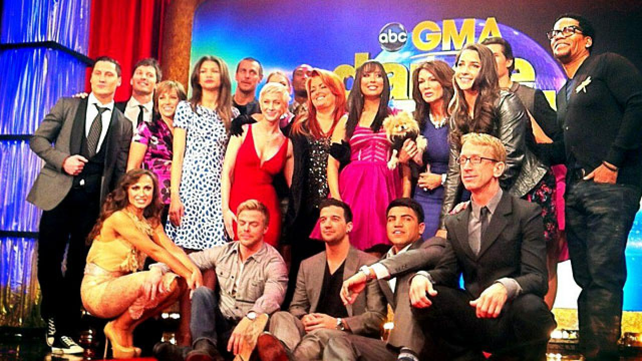 dwts 16 cast revealed entertainment tonight