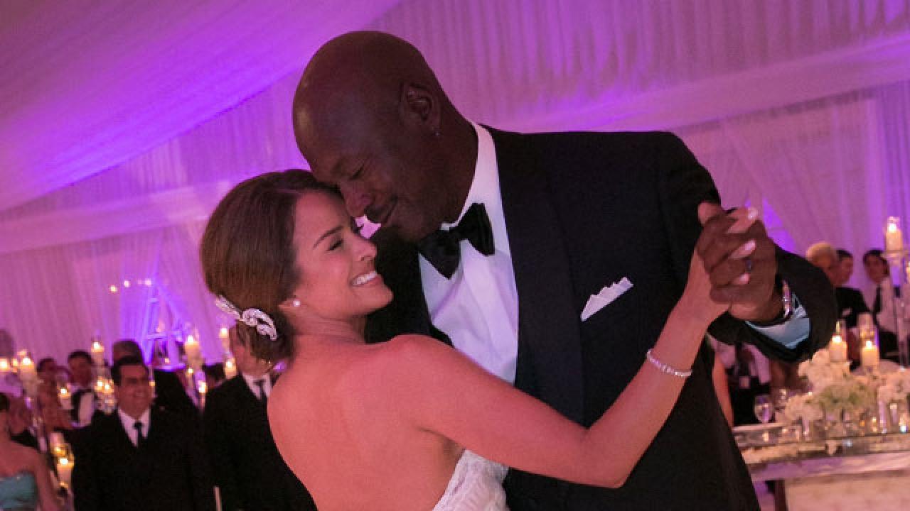 Michael Jordan Weds Yvette Prieto   Entertainment Tonight