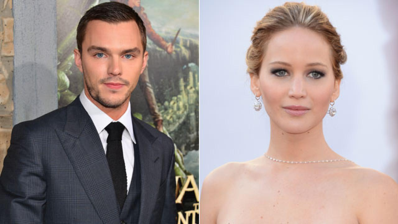 Jennifer Lawrence Chats With Ex-Boyfriend Nicholas Hoult ...