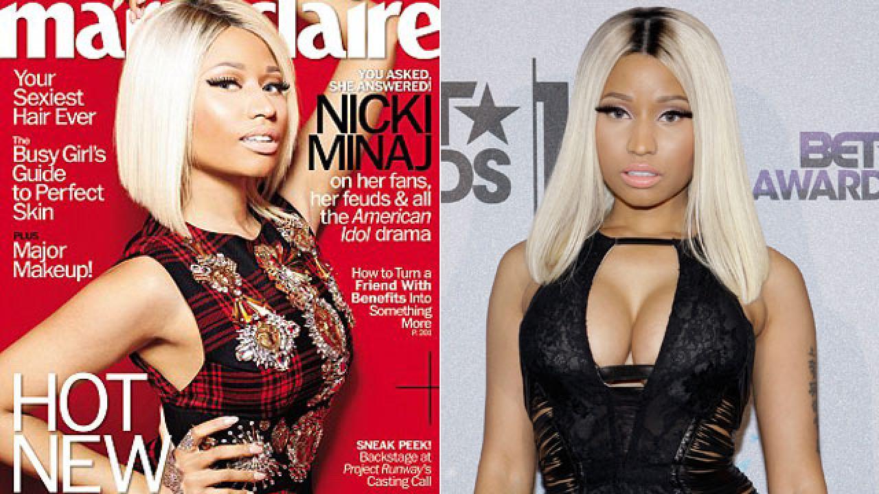 Nicki Minaj Kropp