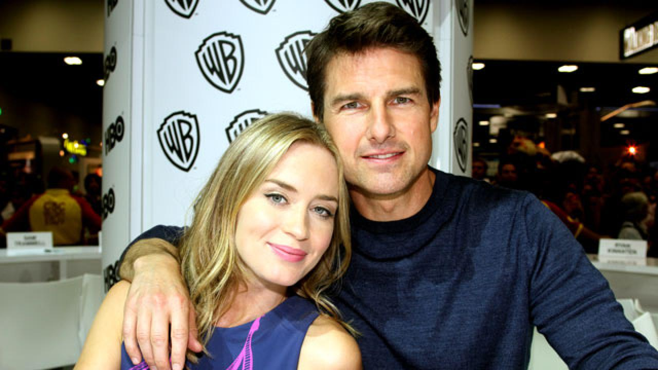 Emily Blunt Took Tom Cruise to a 'Sex Club'! (WATCH ...