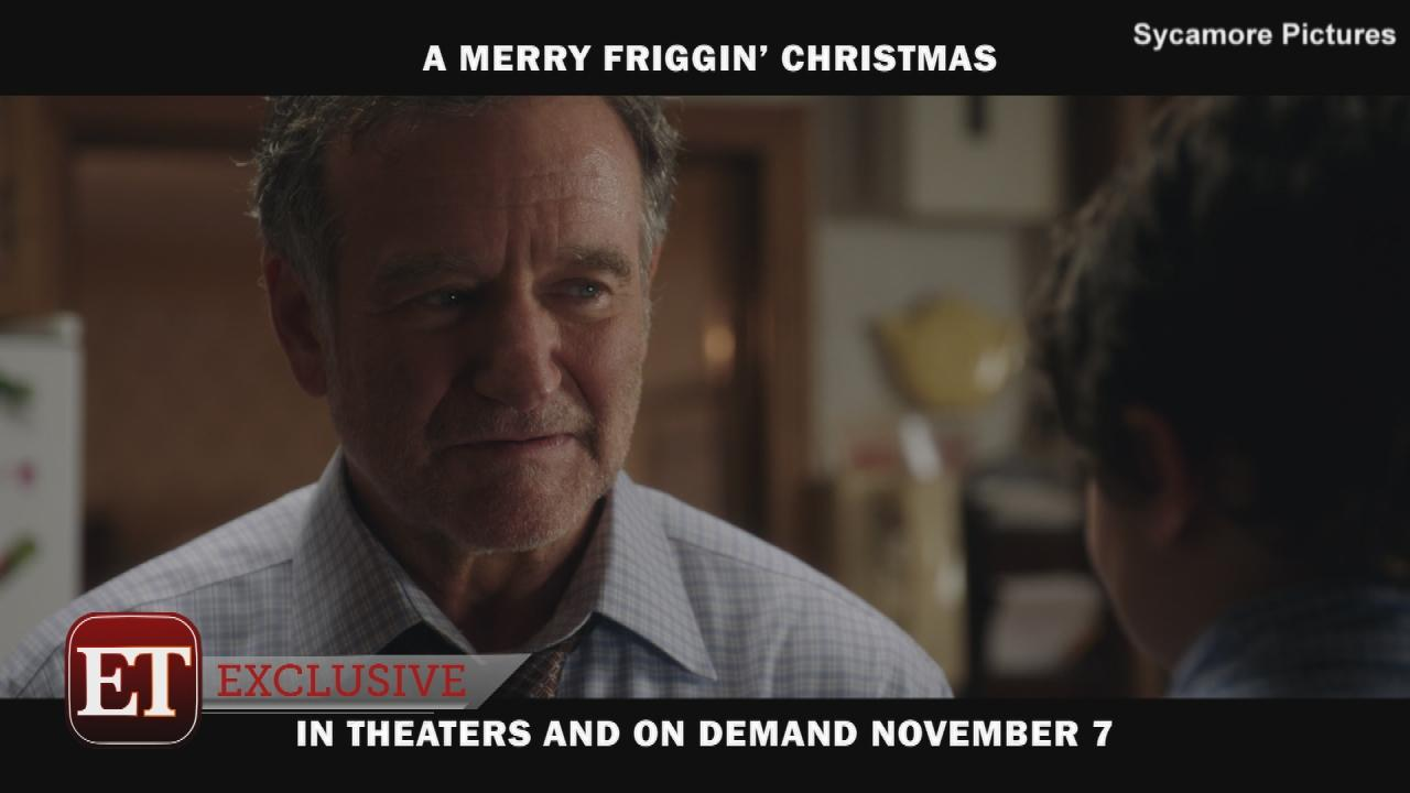 Exclusive robin williams shines in one of his last films for Christmas movies that are on tonight