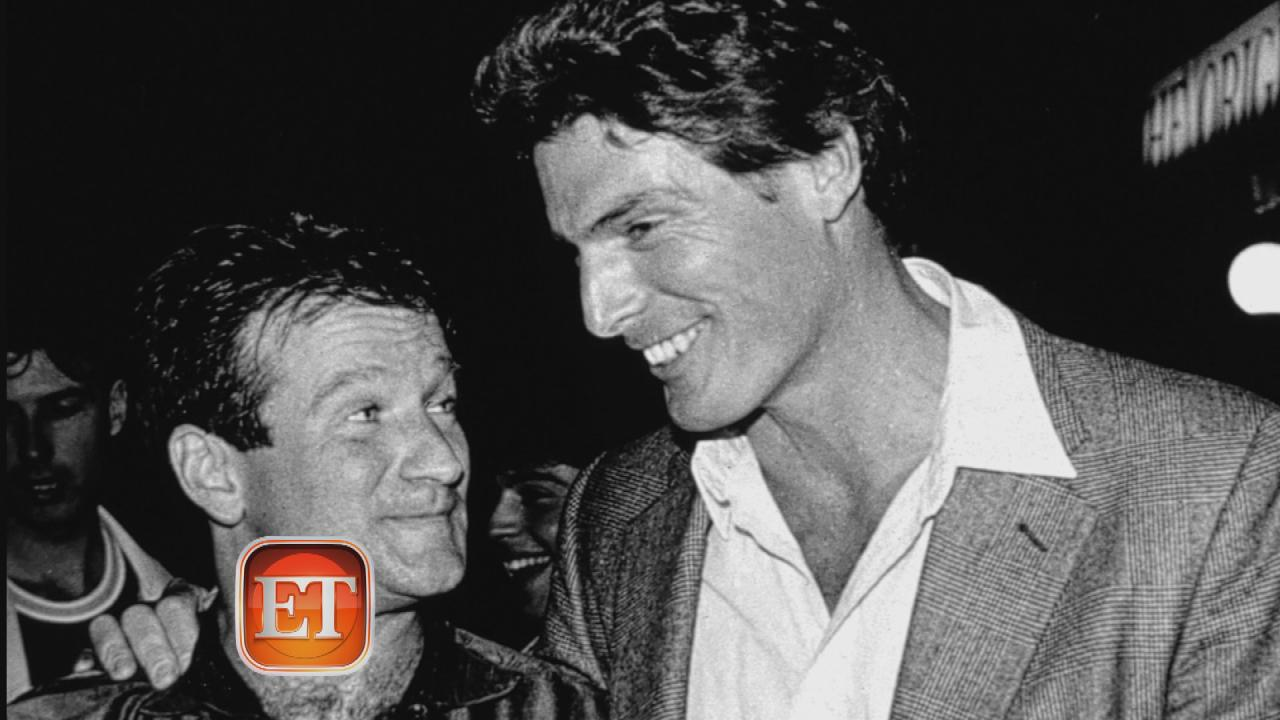 robin williams amp his christopher reeve connection