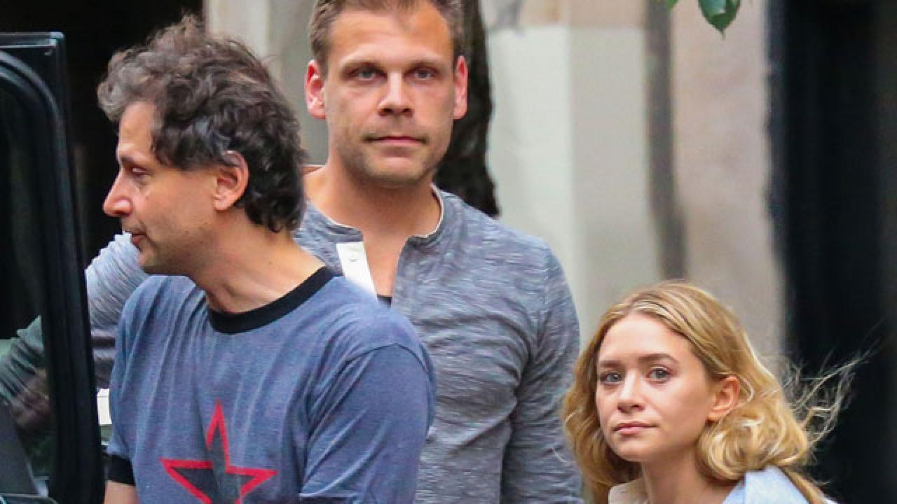 Twins boyfriend olsen Ashley Olsen