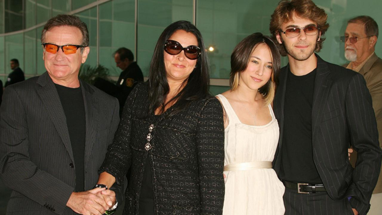 robin williams exwife and children react to his death