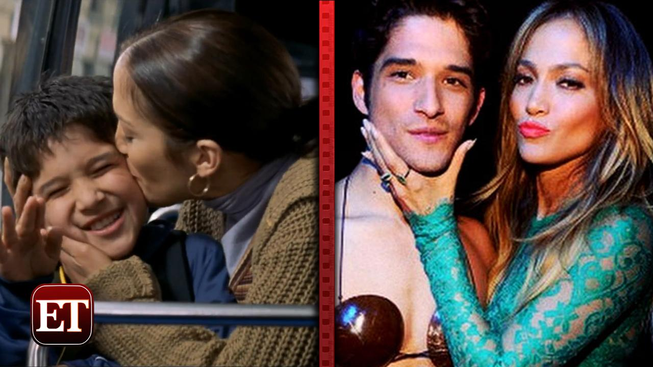 jennifer lopez and tyler posey reunitesee their first
