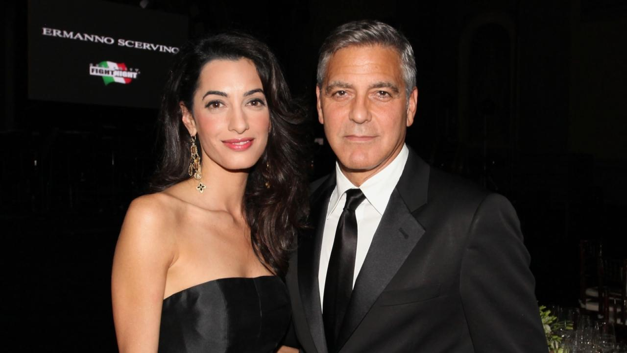 george clooney and amal relationship